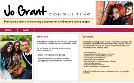 Jo Grant - Website Thumbnail and link