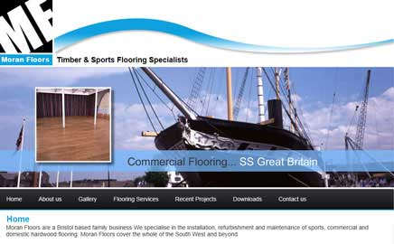 Moran Floors - Thumbnail image with link to website