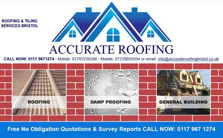 Accurate Roofing Bristo - Thumbnail image with link to website