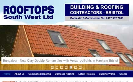 Accurate Roofing Bristol - Thumbnail image with link to website