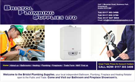 Bristol Plumbing Supplies Ltd - Thumbnail image with link to website