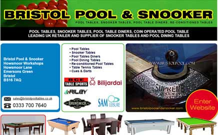 Bristol Pool & Snooker - Thumbnail image with link to website