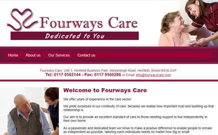 Fourways Care - Thumbnail image with link to website