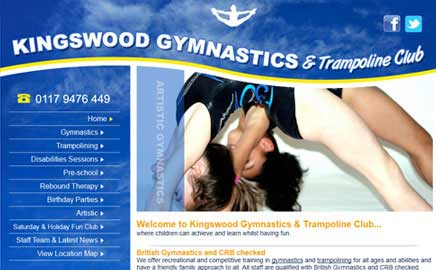 Kingswood Gymnastics & Trampoline - Thumbnail image with link to website