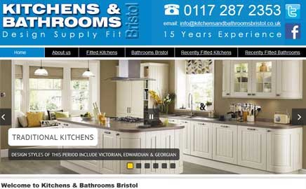 Kitchens and Bathrooms Bristol - Thumbnail image with link to website