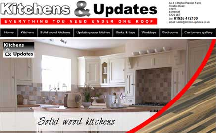 Kitchens & Updates - Thumbnail image with link to website