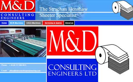M&D Consulting Engineers - Thumbnail image with link to website