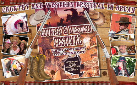 C&W Festival in Brean - Thumbnail image with link to website