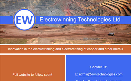 Electrowinning Technologies Ltd - Thumbnail image with link to website