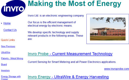 invro - Thumbnail image with link to website