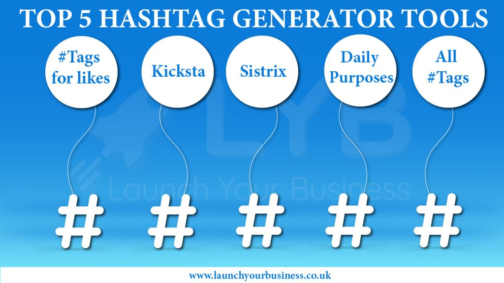 Top five Hashtag Generator Tools